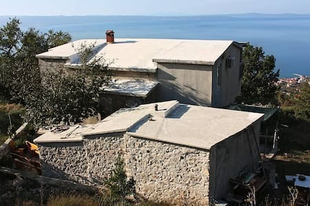 Studio flat with terrace and sea view Podstrana, Split (AS-5225-a) - Other