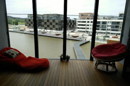 Modern apartment Kingston Foreshore, great views! - Kingston - Lägenhet
