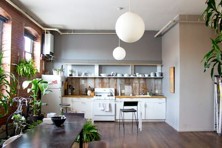 Spacious creative waterfront loft - Brooklyn - Apartamento