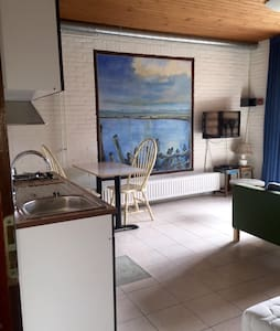 Heerlijke studio in Nes, met sauna! - Nes - Apartamento
