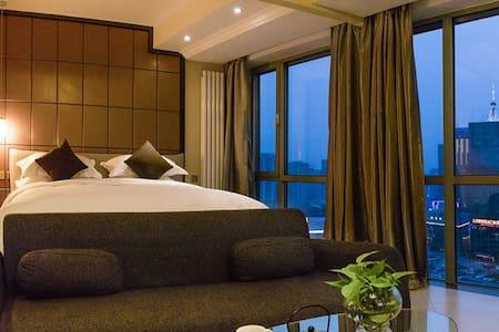 长风画卷夜景大床房【融心智选公寓】 - Taiyuan