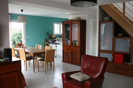 Maison neuve tout confort 7-8 pers Brest N/O - Hus