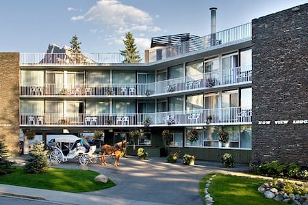 River View 2 Double beds - Bow View Lodge - Banff - Andere