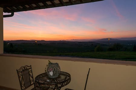 Zona panoramica colline di Firenze - Leilighet