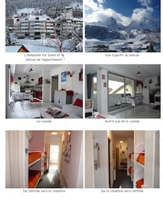Appartement meublé 8 couchages - Wohnung