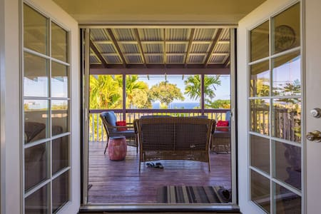Hamakua Scenic Hwy Ocean View Room2 - Szoba reggelivel