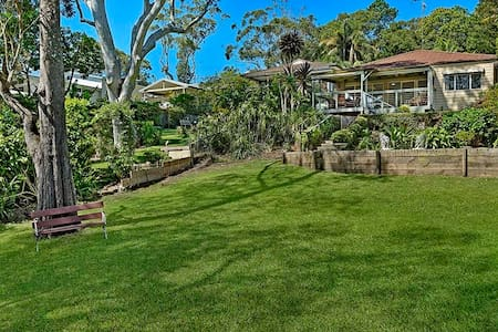 Lakeside and only 300 metres to sea - Avoca Beach - House