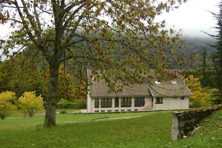 gite avec vue pittoresque dans le parc du Vercors - Saint-Andéol - Hus