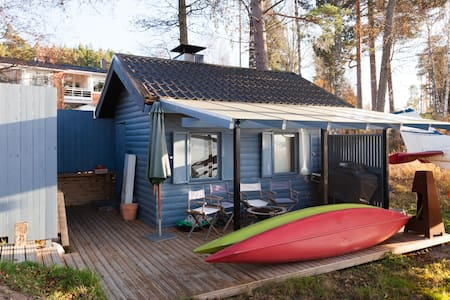 Seaside Sauna Cabin Near Helsinki - Espoo - Blockhütte