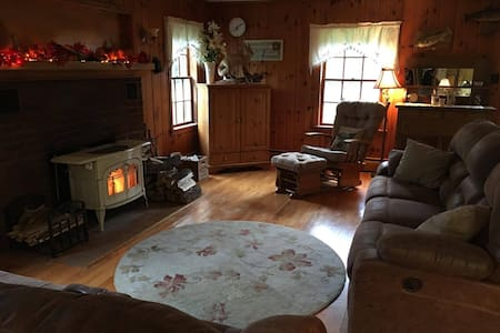 Cozy north woods home with spacious, private room. - Iron River