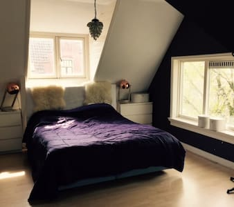 spacious room with private bathroom - Haarlem - Casa