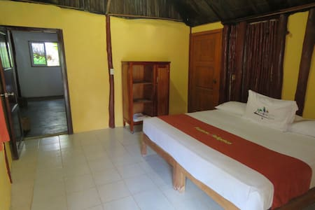 Triple room  in a Mayan Ecotouristic paradise - Blockhütte