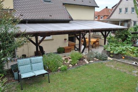 Schöne Ferienwohnung mit Terrasse in Giengen - Giengen an der Brenz - Kondominium