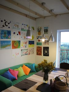 Sunny loft at Lviv, forest area - Lemberg - Wohnung