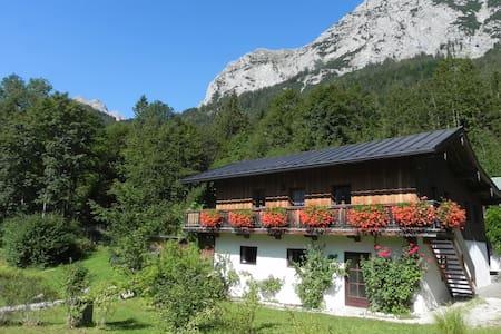 Rustikales Haus am Bergsee - Maison