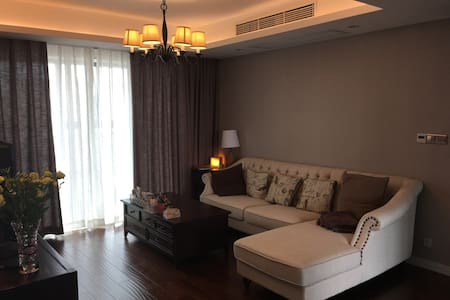 Nice and comfy guest room in an American style apt - Suzhou - Apartment