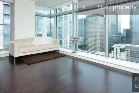 36th floor stunning view of canary wharf - Apartment