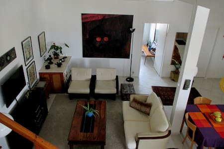 Beautiful Spacious Loft Style Apt - Didi's Place - Mevaseret Zion - 아파트