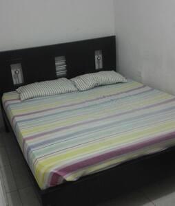 Habitación con cama doble - Barranquilla, Atlántico, CO - Apartament