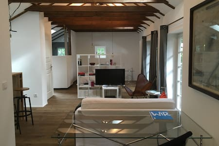 Modernes Loft mit Garten - Guesthouse