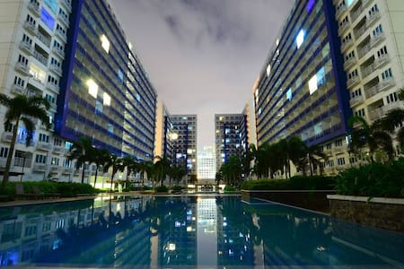 Sea Condo w balcony wifi Pasay Moa - Pasay City - Apartment
