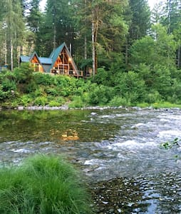 Treehouse on the Little North Fork - Maison