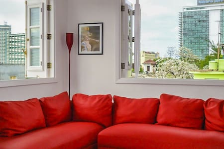 Hostal Zaza, Bright Room, City Center Vedado - Apartament