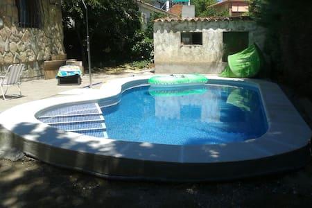 Casa encantadora con piscina privada - Pelayos de la Presa - Casa