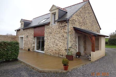 Maison Campagne au Calme - La Pommeraye - Hus