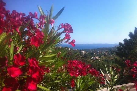 Studio 4 couchages vue mer golfe de ST Tropez - Roquebrune-sur-Argens - Lägenhet