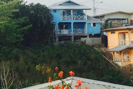 HOLIDAYRENTAL ONE LOVE COTTAGE TOBAGO Downstairs - Flat