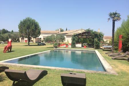 Magnifique villa à 10mn de Saint Rémy de Provence - Villa