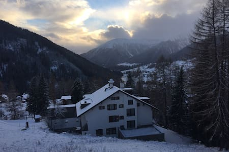 Sonnige Wohnung in Davos-Clavadel - Apartment