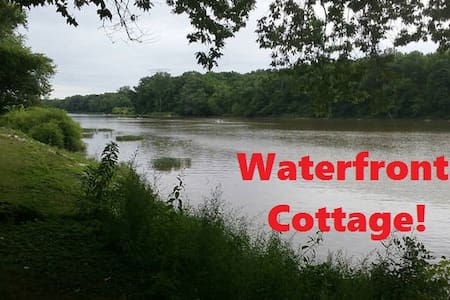 Rustic Waterfront Cottage with free Kayaks & Canoe - Waterville