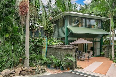 Aamber Garden Villa - Stylish - Byron Bay - Lägenhet