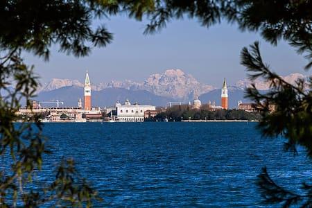 Magnífica vivienda Lido de Venecia - Apartamento
