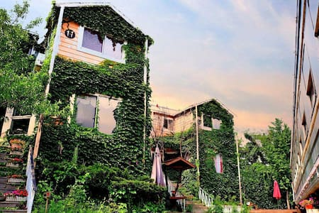 神秘木质小屋和一节绿皮火车 - 大连 - Villa