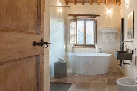 Tofanello Luxury close to Tuscany - Monte Santa Maria Tiberina - Talo