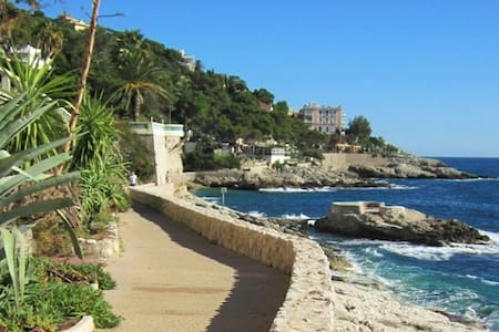 Luxury Modern Flat - Beach, Tennis, Gym and Monaco - Flat