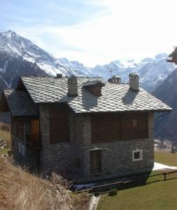 Villa vista Gran Paradiso - Gimillan