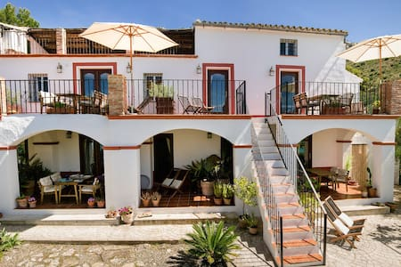 Ground Floor Studio in Lakeside Andalusian Finca - Apartment