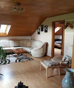 Ruhige Wohnung am Feld - Bergheim - Lejlighed