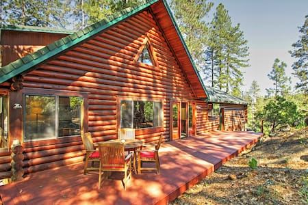 Secluded 3BR Grass Valley Cabin - Grass Valley