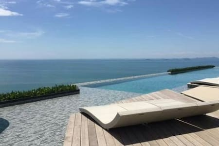 HIDEAWAY & LUXURY BEACHFRONT CONDO - Daire
