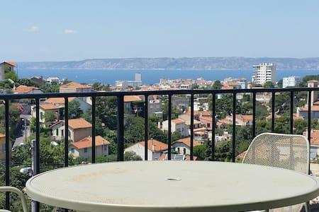 Vue mer panoramique Roucas-Blanc - Marseille - Loft
