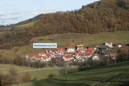 Ferienwohnung Dachgeschoss - Oberried - Wohnung