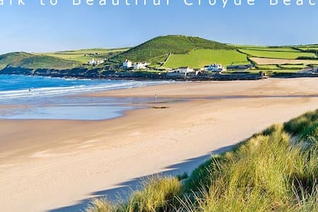 Gorgeous Beach Character Cottage - Croyde - Apartamento