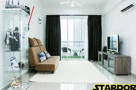 Stardorm Ipoh Homestay @ The Majestic 19th floor - Ipoh - Wohnung