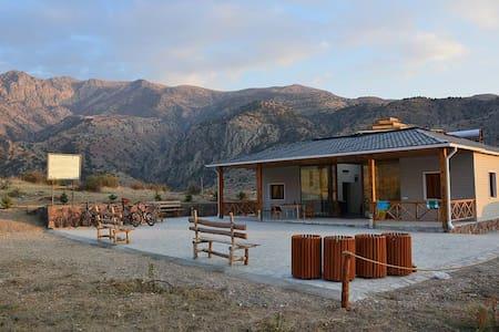 Eco Lodge in the Caucasus Wildlife Refuge - Bungalo