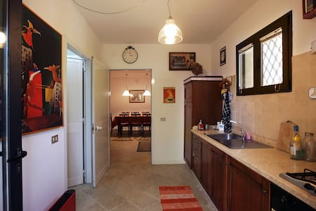 Lovely garden house in Treviso (Venice) - Apartment